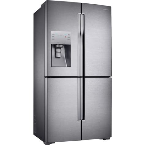 rf23j9011sr samsung 36 quot 22 5 cu ft counter depth 4 door refrigerator