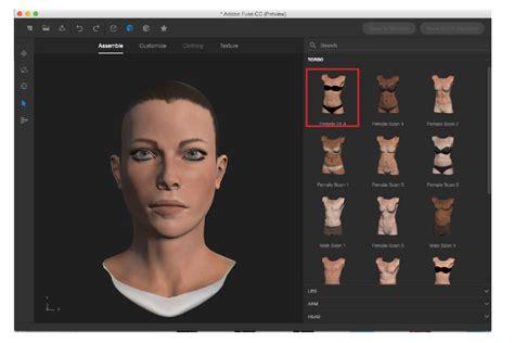 3d criar criar personagens 3d o adobe fuse photopro cursos