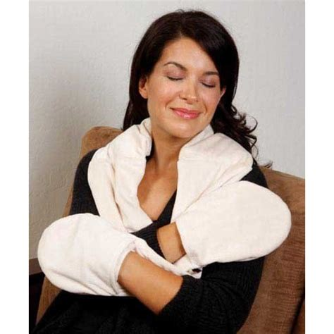 bed buddy neck wrap bed buddy naturals plush neck hand wrap