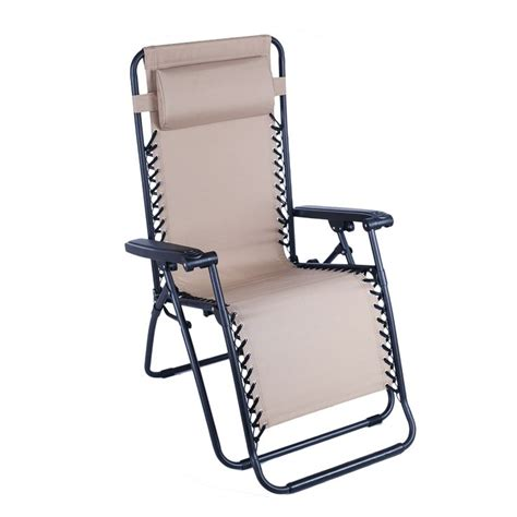 Portable Recliners by Portable Recliner Chair With Adjustable Headrest Beige