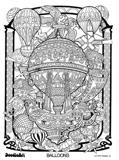 doodle house coloring poster free coloring pages