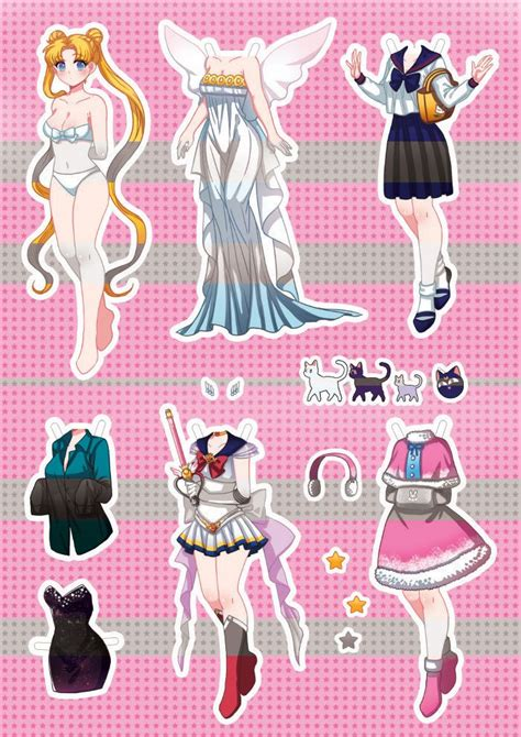 b toys light me to the moon 36 best images about sailor moon paper dolls on