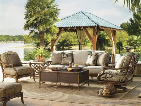 Stunning Tommy Bahama Outdoor Furniture Ideas Backyard Tropical Patio Design