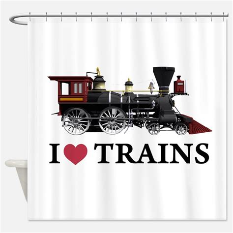 Kids Train Shower Curtains Kids Train Fabric Shower