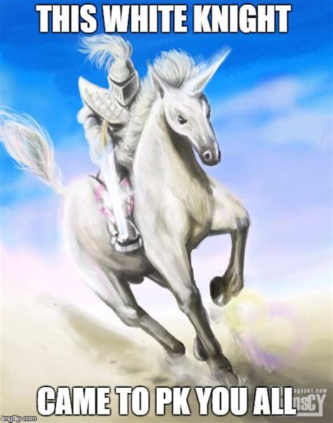 White Knight Meme - white knight imgflip
