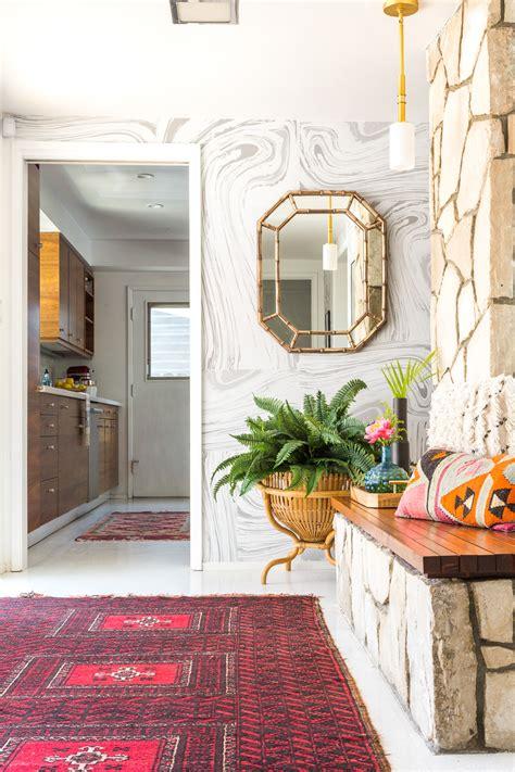 style  modern bohemian entryway  vintage