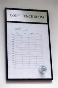 Conference Room Calendar Template by Conference Room Schedule Display Calendar Template 2016