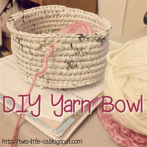 knitted yarn bowl pattern two c s diy yarn bowl tutorial pattern