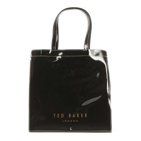 Ted Baker Plain Bow Large Icon Bag by Ted Baker Alacon Plain Bow Large Icon Bag Masdings
