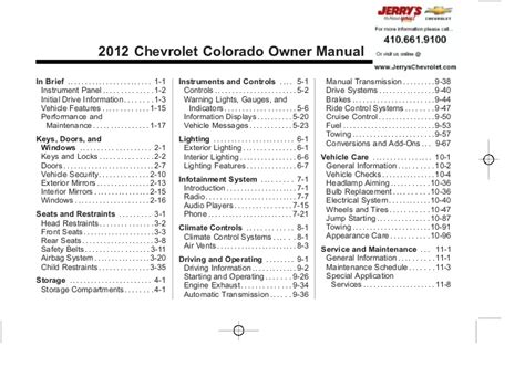 service repair manual free download 2012 chevrolet colorado navigation system 2012 chevy colorado owners manual baltimore maryland