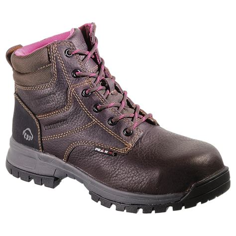 wolverine boots womens s wolverine 174 piper peak ag boots brown 584188