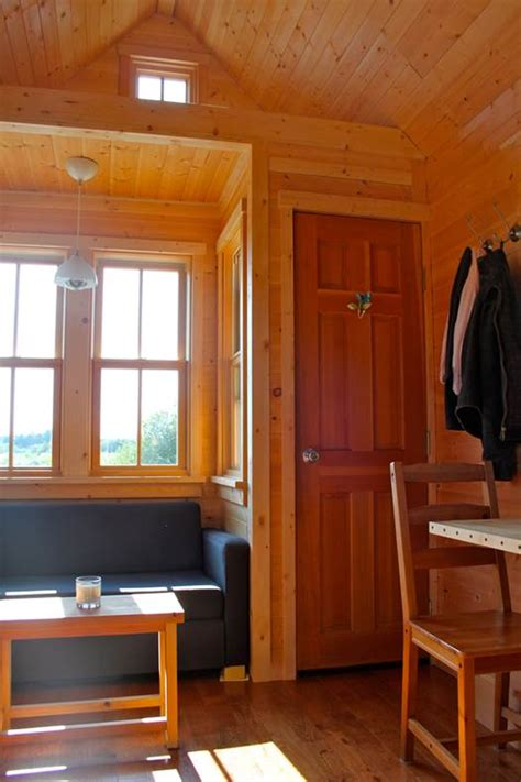 tiny house living room and shawns tiny house