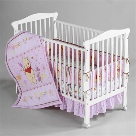 Cheap Baby Bedding Sets Deals On Sale 4 Disney Baby Winnie The Pooh Flower Friends Crib Bedding Set Get Discount Price