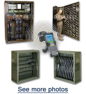 Weapons Racks and RFID Tracking Software