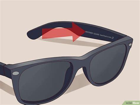 formas de saber  unas gafas ray ban son falsas