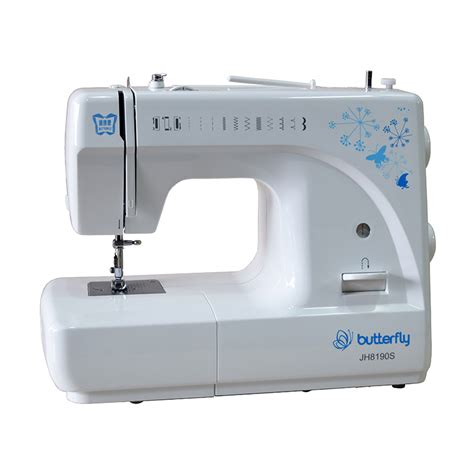Mesin Jahit Fortable Butterfly mesin jahit butterfly jh 8190s portable multifungsi elevenia