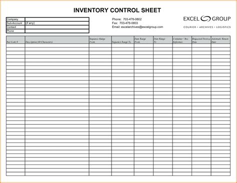 take sheet template template stocktake form template