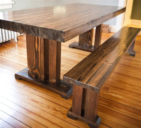 Wood And Style by Farm Style Wood Dining Table With Well Made Solid Wood