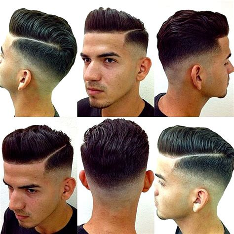 is there another word for pompadour hairstyle men as my hairdresser dont no what it is haircut names for men types of haircuts