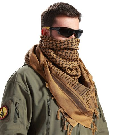Miera Pashmina Army 1 related keywords suggestions for shemagh keffiyeh