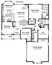 House Plans With Open Floor Design Ranch House Plans With Open Floor Plan