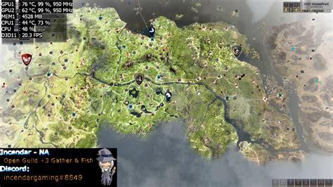 black desert world map how to fix world map lag in black desert bdo 1080p