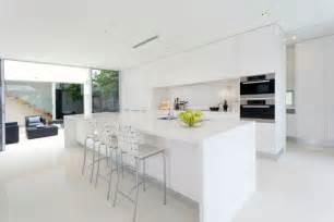 Modern white kitchen designs