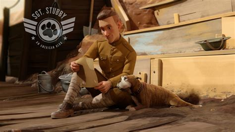 Animation Sergeant Stubby Animated Sgt Stubby An American Sets April 2017 Release Date Vimooz