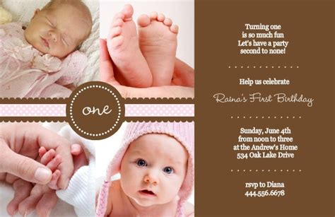 one year birthday invitation wordings 1st birthday invitation wording ideas from purpletrail