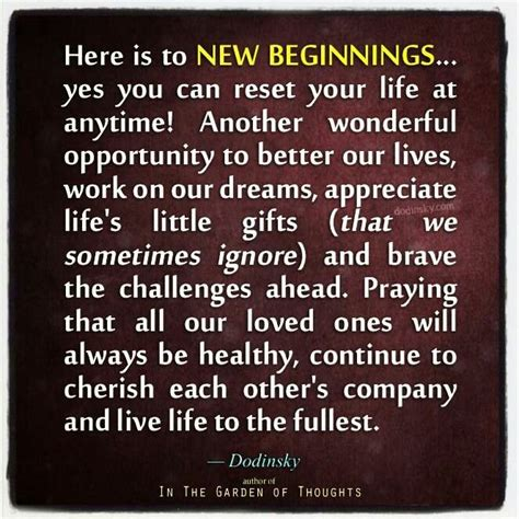 happy new beginning quotes quotesgram