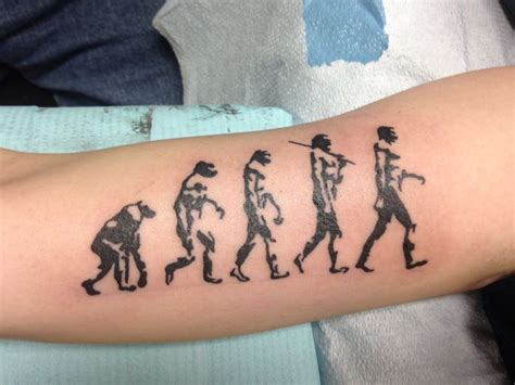 evolution tattoo designs 59 best portland images on