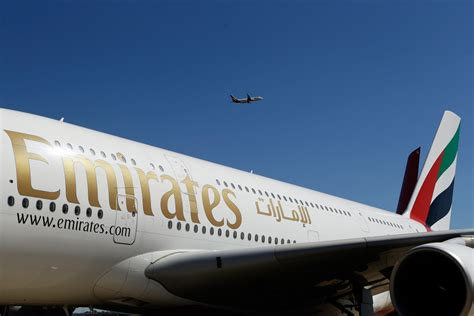 emirates aircraft emirates airline flight evacuated after emergency landing