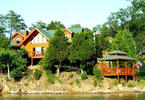 Smoky Mountain Lake Cabin Rentals by Log Cabin Rental On Lake Douglas In The Smoky Mountains