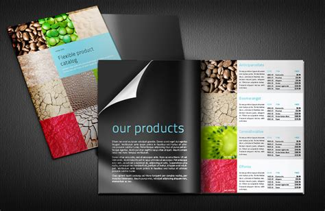 modular and flexible indesign product catalogue template