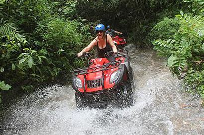 bali rafting atv bike package