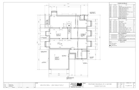 plan of residential house residential house foundation plan house design plans