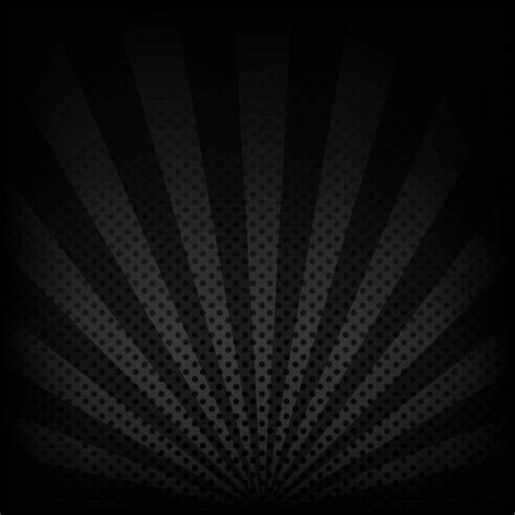black and grey background gray background with dots and rays vector free