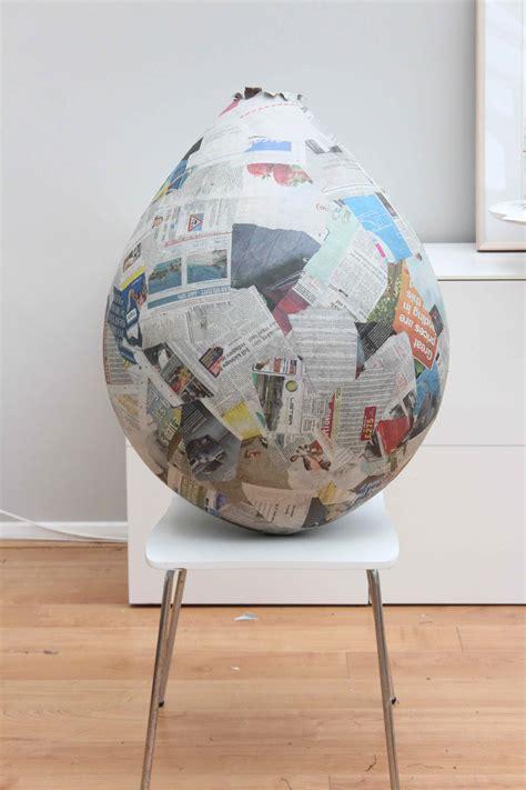 How To Make Paper Mache Balloon - paper mache