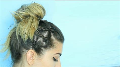 Easy Hairstyles For School For Hair by 5 Easy Back To School Hairstyles Or Hair