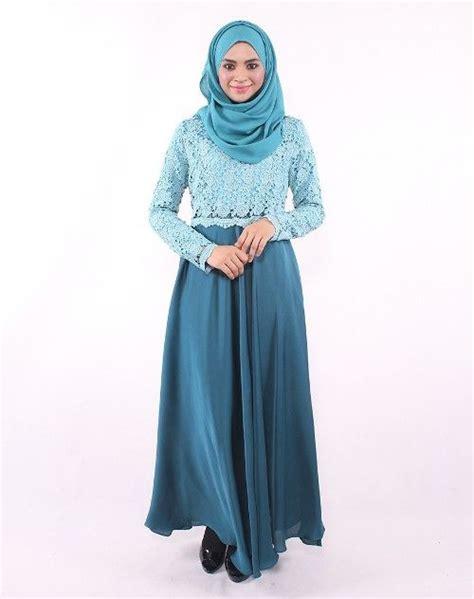 Pakaian Wanita Talita Dress baju gamis brokat 3 busana muslim