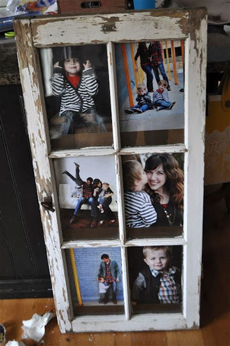 how to turn an old window into a photo frame hymns and turn old window into picture frame do it and how