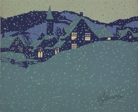mcmichael gallery showcases christmas cards from group of mcmichael canadian art collection showcasing christmas