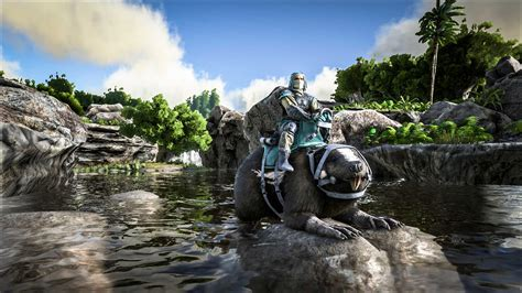 ark survival pc ps4 xbox one wiki cheats guide unofficial books ark survival evolved update adds water loving castoroides