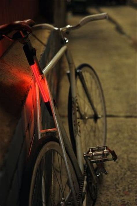 fibre flare bike light fiber optic omni directional bike light the gearcaster