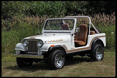small jeep white 86 cj 7 white laredo 427
