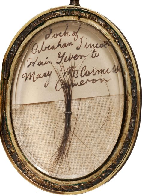 what did abraham lincoln invent lock of abraham lincoln s hair in gold locket at heritage