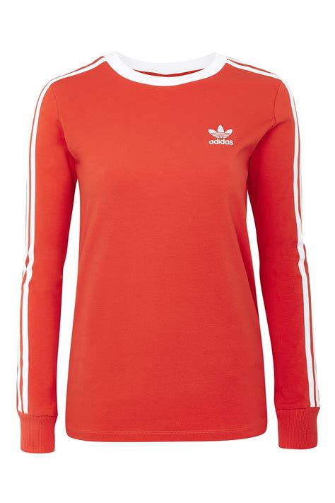T Shirt Sleeve 3 3 stripe sleeve t shirt by adidas originals new in fashion new in topshop
