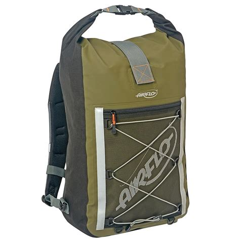 Fy Roll Bag airflo fly dri 30 litre roll top back pack fishing bags