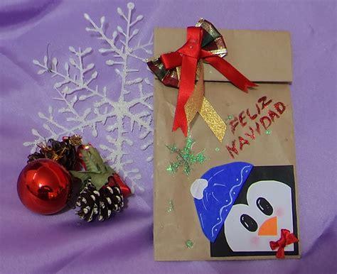 bolsas de dulces para navidad manualidades navide 209 as bolsa navide 209 a para regalo o