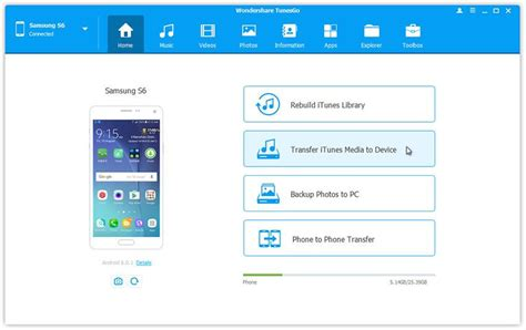 transfer itunes to android 4 ways to itunes on android